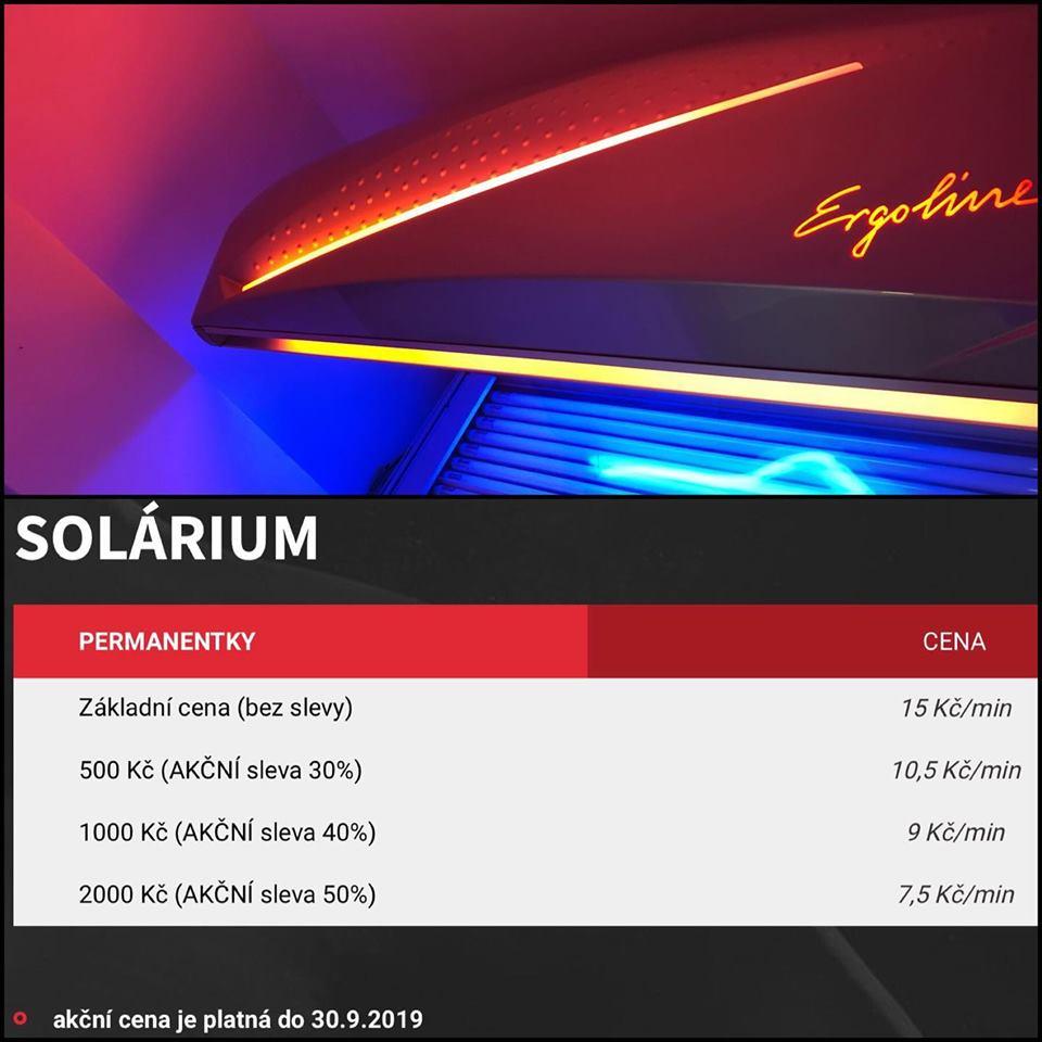 solarium brno akce