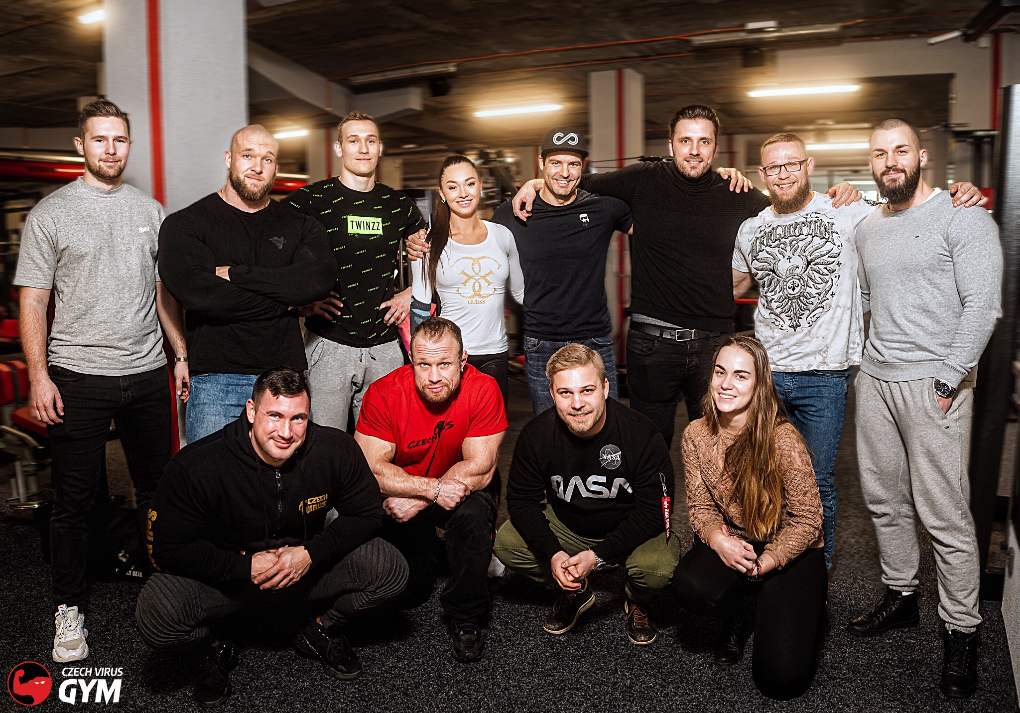 czech virus team posilovna gym fitness