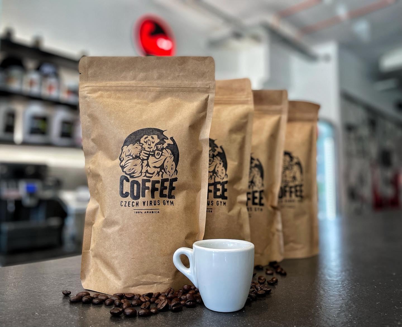 káva coffee czech virus posilovna fitness